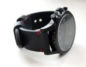 Watch band Black and Red - Anger Refuge