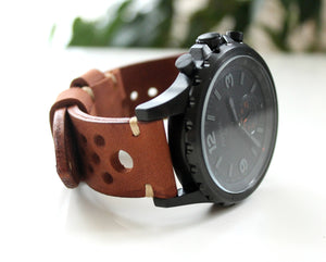 Watch band rally Brown - Anger Refuge