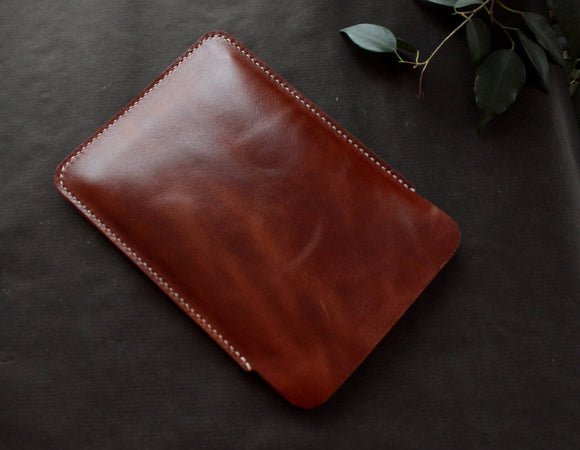 Kindle Paperwhite sleeve Cognac Brown - Anger Refuge