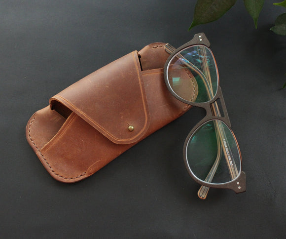 Glasses case Brown - Anger Refuge