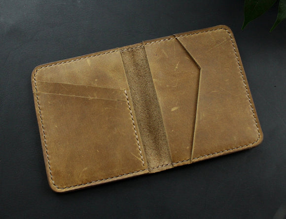 Credit card wallet ligth Olive - Anger Refuge