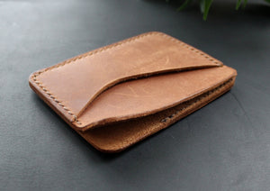 Credit card wallet Brown - Anger Refuge