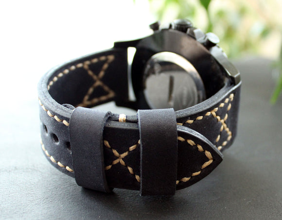 Watch band Dark Blue - Anger Refuge