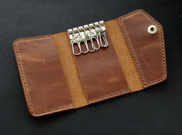 Keychain wallet Brown - Anger Refuge