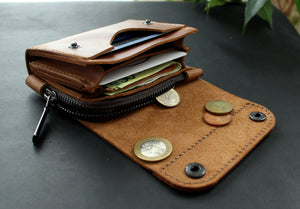 Small wallet Brown - Anger Refuge
