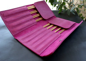 "Knitting 10"" straigth needles organizer - Anger Refuge"