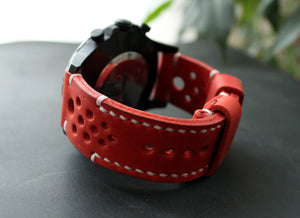 Watch strap Red - Anger Refuge