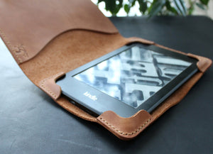 Kindle Paperwhite case Light Brown - Anger Refuge