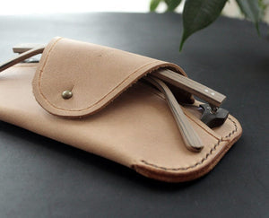 Glasses case Beige - Anger Refuge
