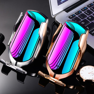 Automatic Wireless Charger Car Phone Holder