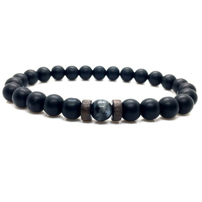 Men  Natural Moonstone Bracelet