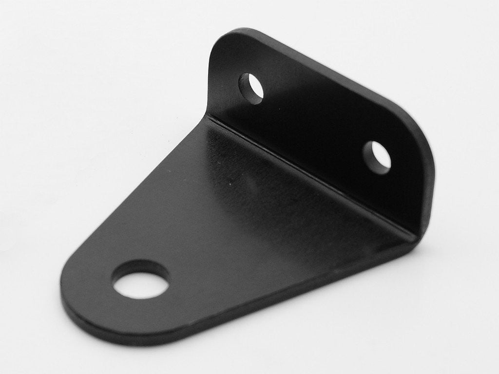 Headlight Bracket, Bottom Mount, Black, SR400