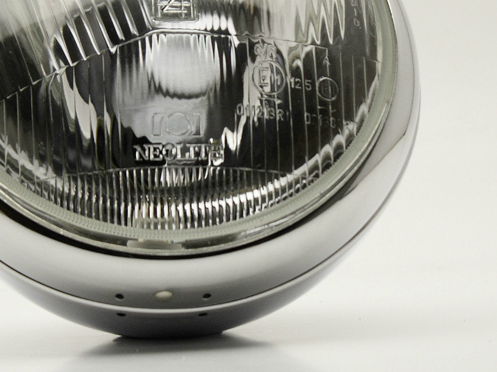 "Headlight, 7"" Chrome, Vintage"