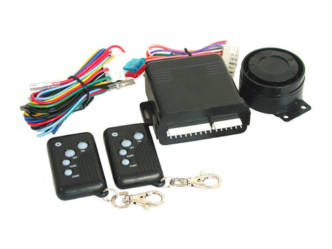 Motorcycle Alarm System by Mongoose