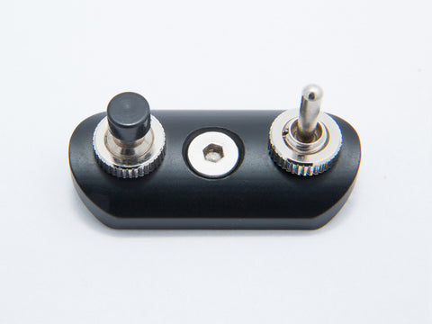 Switch Block, Low Profile, Black
