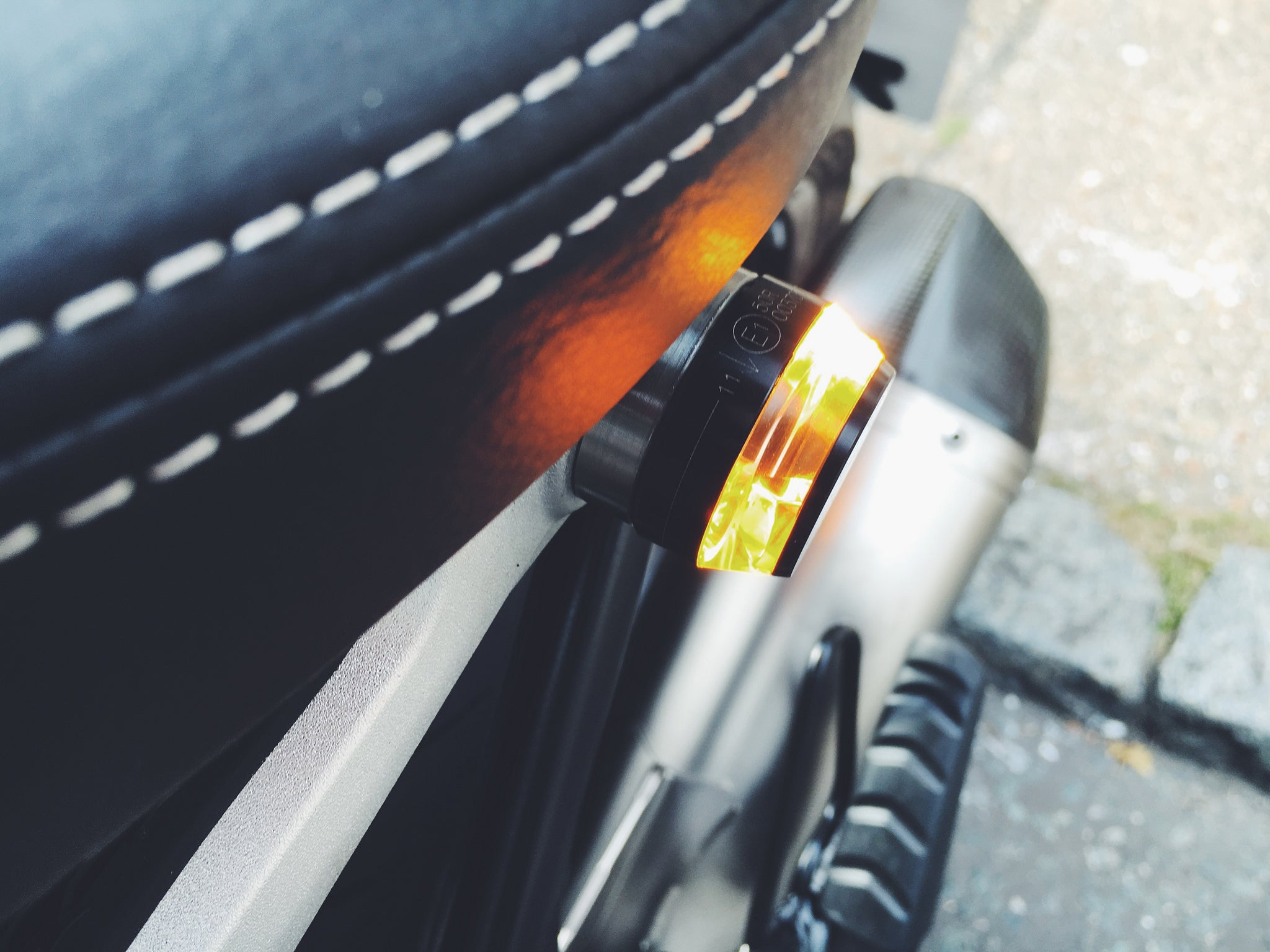 Motogadget m.blaze Disc Bar-end Indicator, Polished