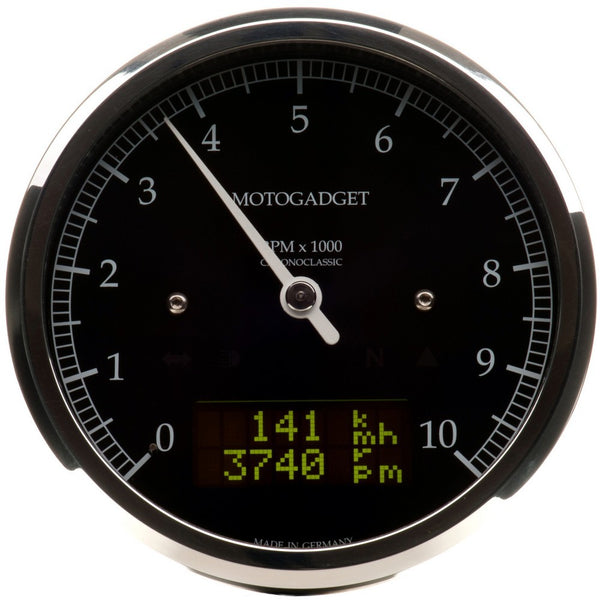 Motogadget Chronoclassic, Polished Bezel