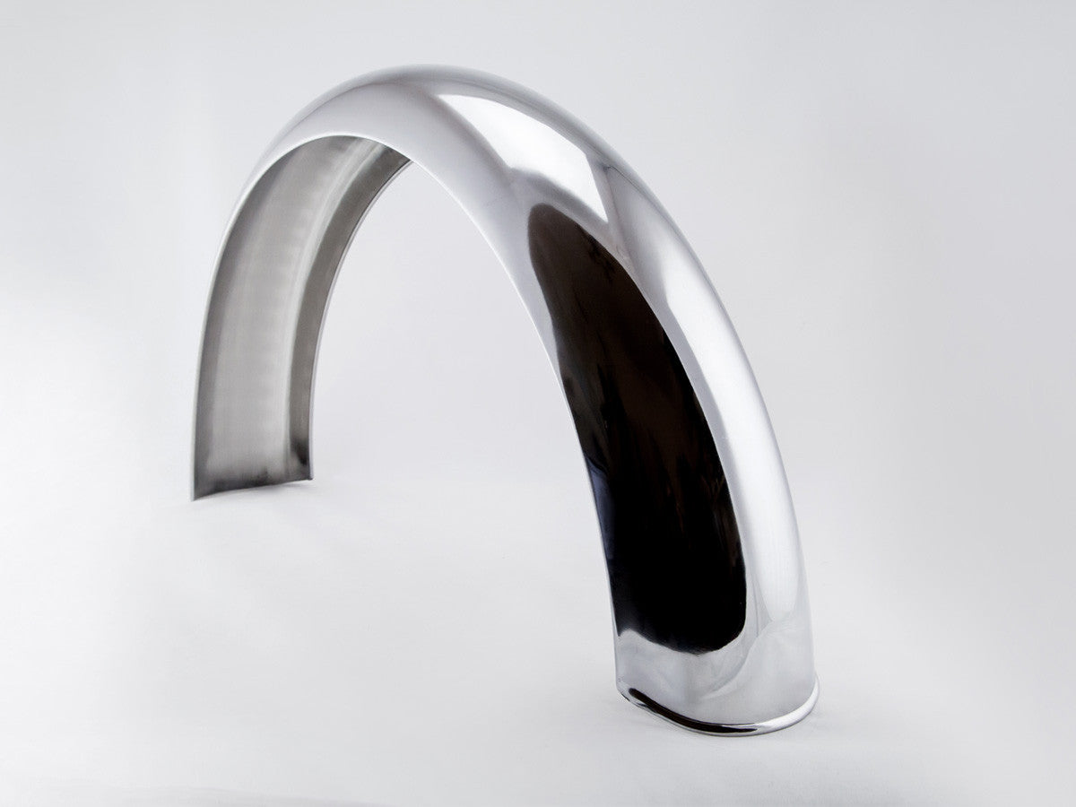 Fender, Rear, Stainless Steel, 5""