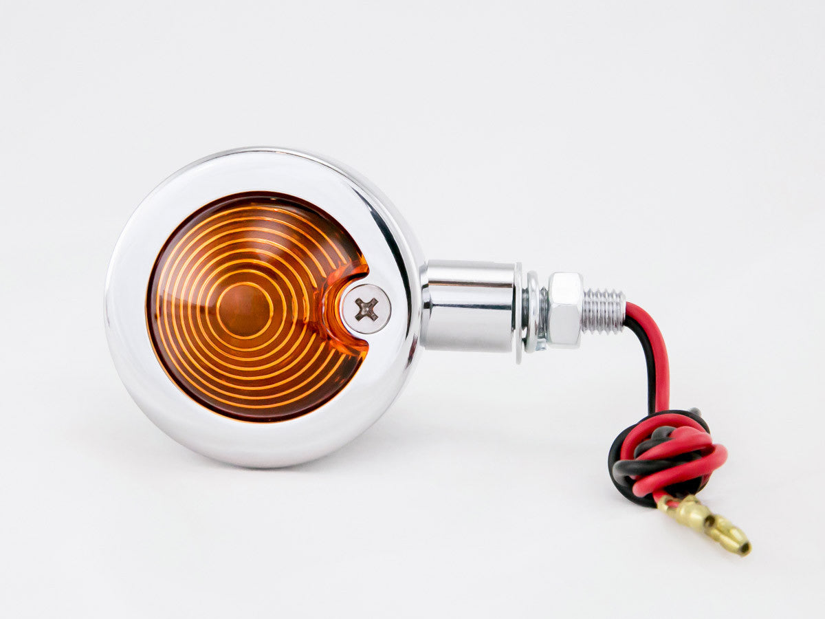 Indicators, Bullet, Large, Chrome