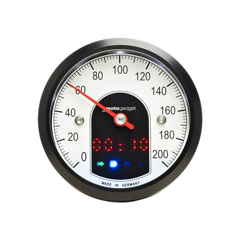 Motogadget Motoscope Tiny Speedo, Black Bezel