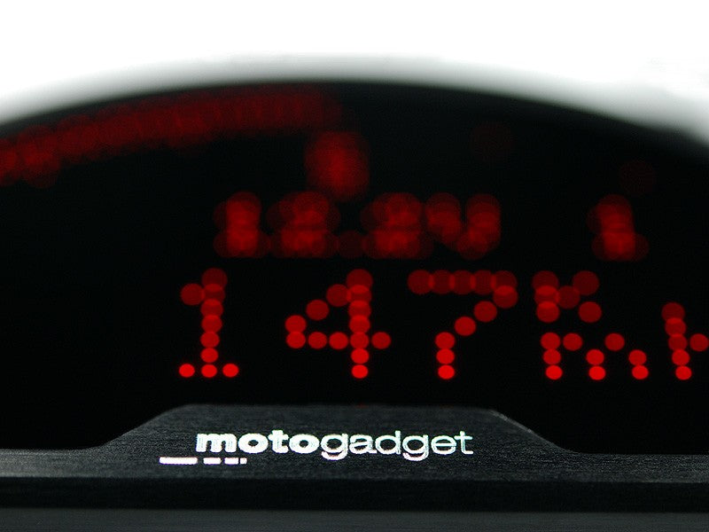 Motogadget motoscope pro, Digital Dashboard for BMW R Nine T