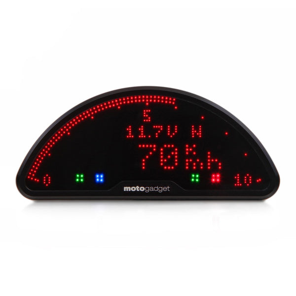 Motogadget motoscope pro, Digital Dashboard