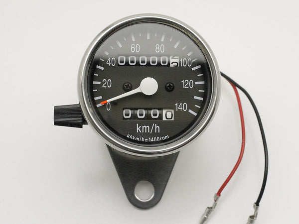 Speedo, 60mm, Black Face, Polished Body, Bulb-lit