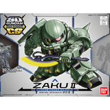 Bandai Hobby Model BAN230353, SD Cross Silhouette #04 MS-06F Zaku II cover art