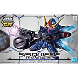 Bandai Hobby Model BAN5057010, SD Cross Silhouette #10 Sisquiede (Titan Color) cover art