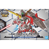Bandai Hobby Model BAS5057691, SD Cross Silhouette #12 Unicorn Gundam (Destroy Mode) cover art