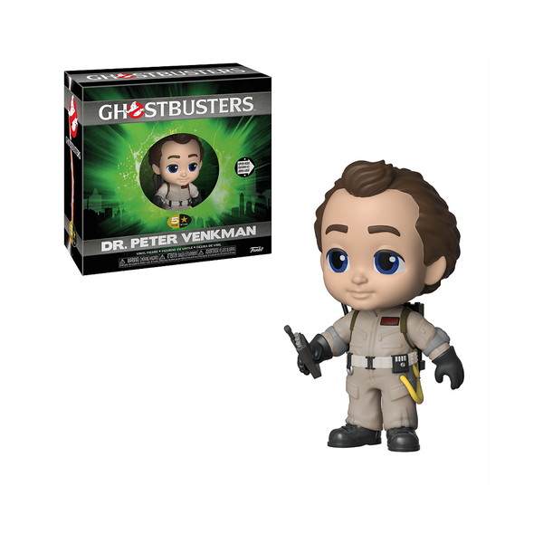 Funko 5 Star: Ghostbusters - Dr.Peter Venkman with proton pack with the blaster fitting into his hand