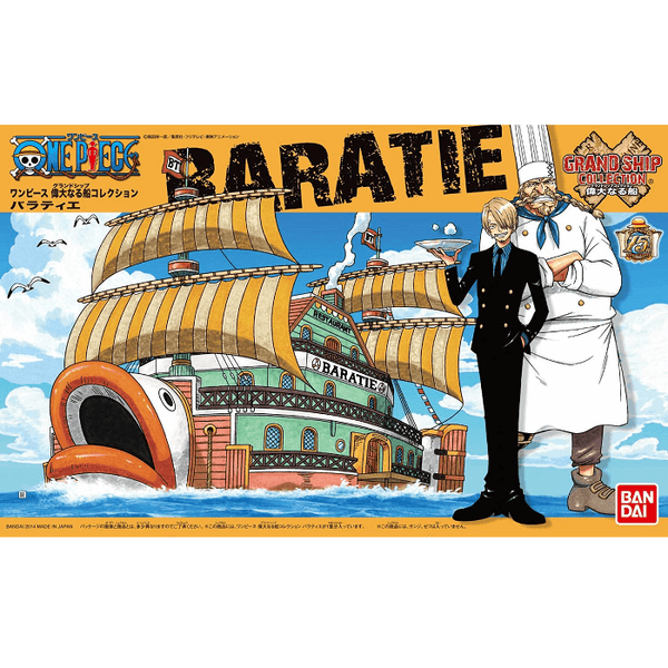 Bandai Hobby One Piece Grand Ship Collection - Baratie, Model # BAS5057425 Cover Art