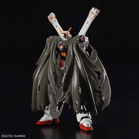 Bandai Gundam #31 Crossbone Gundam X1 RG 1:144 Scale Model Kit image 1 with cloak