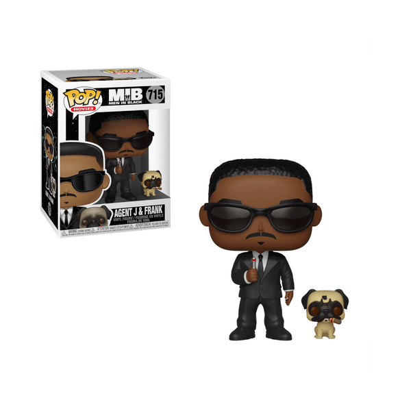 Funko Pop! Men in Black - Agent J & Frank