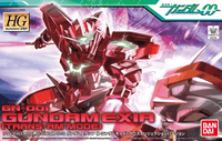 Bandai HG GN-001 Gundam Exia (Trans-Am Mode) 1/144 scale cover art