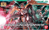 HG GN-007GNHW/M Arios Gundam 1/144, Model # BAS5055604 cover art