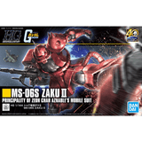 HGUC #234 MS-06S ZAKU II 1/144 - Model # 5060453 Cover Art