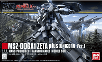 HGUC MSZ-006A1 Zeta Gundam 1/144, Model # BAS5060402 Cover Art
