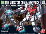 HGUC RGM-79GS GM COMMAND SPACE 1/144, MODEL # BAN5055729 COVER ART