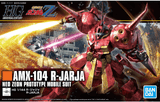 Bandai HGUC Series AMX-104 R-Jarja (Neo Zeon Prototype Mobile Suit) 1/144 scale cover art