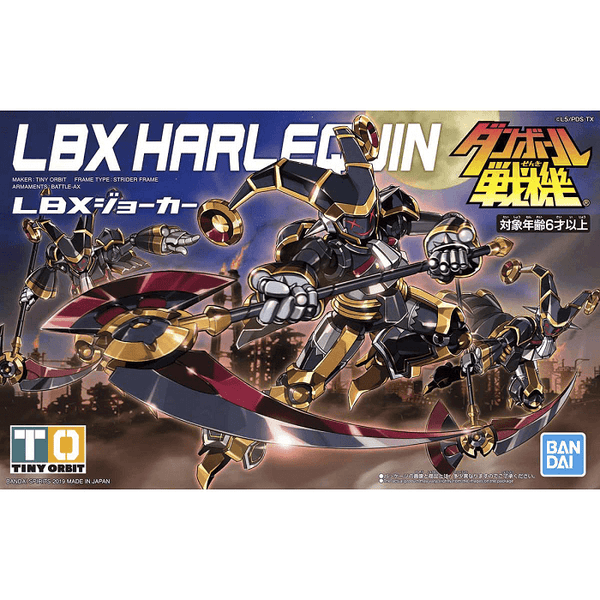 Bandai LBX #007 Harlequin (Joker), Model # BAS5057818 cover art