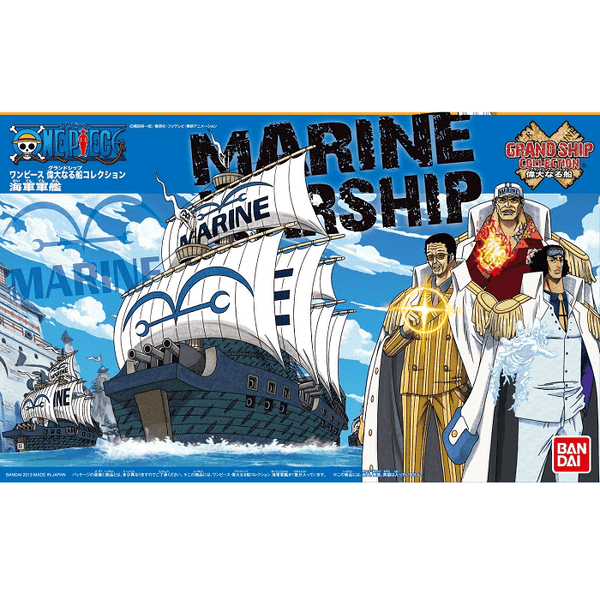 Bandai Hobby One Piece Grand Ship Collection - Marine, Model # BAS5055619 Cover Art