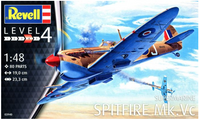Revell Supermarine Spitfire Mk.Vc 1/48 Model # RMG3940 cover art
