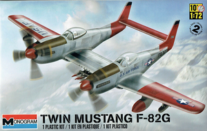 Revell Twin Mustang F-82G 1/72 scale model # RMX5257 cover art