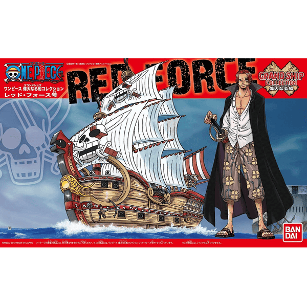 Bandai Hobby One Piece Grand Ship Collection - Red Force, Model # BAS5057428 Cover Art