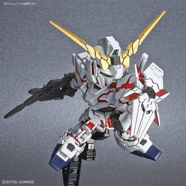 Bandai Hobby Model BAS5057691, SD Cross Silhouette #12 Unicorn Gundam (Destroy Mode) image 2
