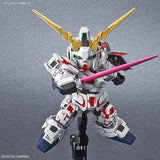Bandai Hobby Model BAS5057691, SD Cross Silhouette #12 Unicorn Gundam (Destroy Mode) image 1
