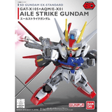 SD EX STANDARD #02 AILE STRIKE GUNDAM MODEL # BAN196728 COVER ART