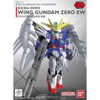 SD EX STANDARD #04 WING GUNDAM ZERO EW MODEL # BAN5057600 COVER ART
