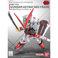 SD EX STANDARD #07 GUNDAM RED ASTRAY MODEL # BAN204935 COVER ART